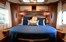 Hymer Bedroom