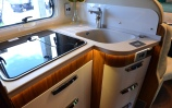 The Hymer galley
