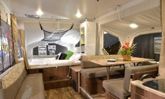 The Poptop Camper interior