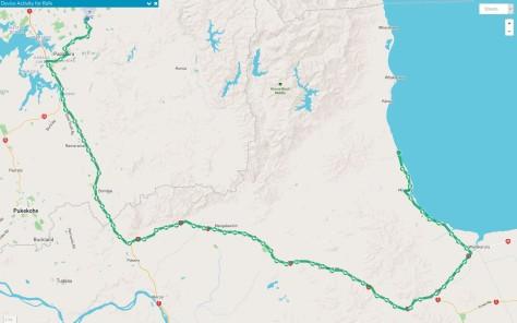 Rafes Tracking map