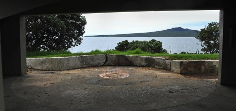 One of the Gun Emplacements