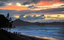 """Dusk at Hahei after the """"storm""""!"""