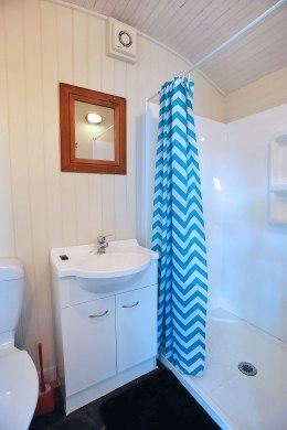 Inside a train: The Bathroom