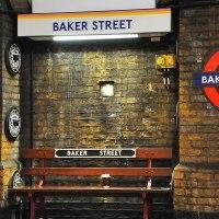 Trains past Baker Street
