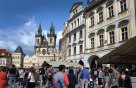 Old Town Square with the Tyn Cathedral