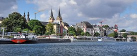 Koblenz from the ferry