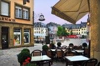 In the Echternach Village