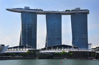 The Marina Sands Hotel