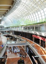 Inside the Marina Sands Shopping centre
