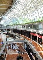 Inside the Marina Sands Shopping centre