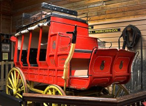 An old Stagecoach