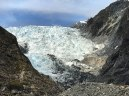 The Franz Josef Glacier. See if you can spot a Helicopter