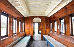 Inside the carriage - Lumsden
