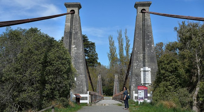 NZ's Longest Wooden Suspension Bridge