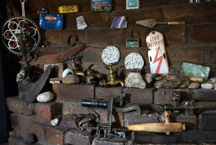 Some of the Trinkets on the fireplace