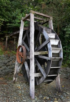 One of the waterwheels