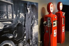Henry Ford and some Bowsers