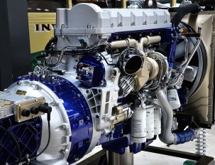 A Hybrid Volvo Electric/Diesel