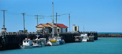The Oamaru Wharf