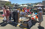 Fiona at the market - Nelson