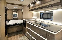 Massive galley area - Exclusiv