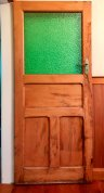 How the doors were.. freshly dipped a zillion years ago and simply hung as they were.