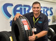 Phil from Carters Tyres. The man you should talk to when you want tyres for your Motorhome!