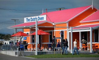 The Dutch cafe next door