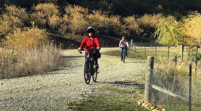 Biking to Lowburn