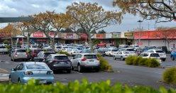 One of the Malls just around the corner