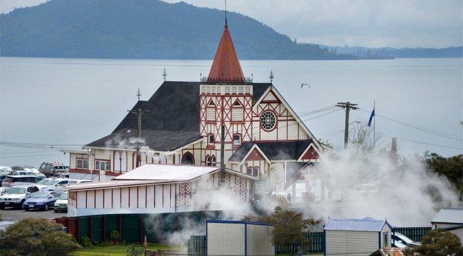 Steaming Gutters in Ohinemutu