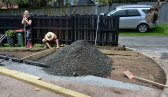 Gravel arrives for carpark