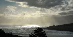 From the top of the Hill looking out to the entrance to Hokianga Harbour