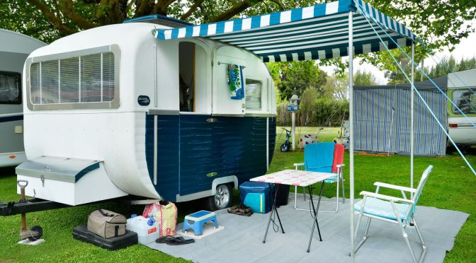 One of the smaller Classic Caravans!