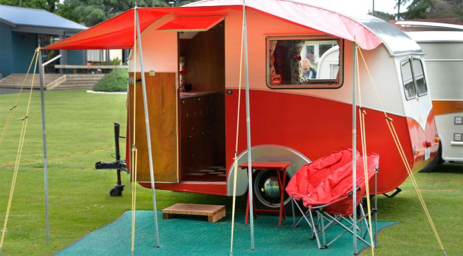 The 75th Anniversary of Liteweight Caravans at Cambridge