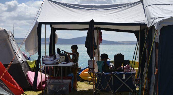 Poutu Marine Hall Campground