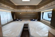 Inside a Dethleffs Exclusive Caravan