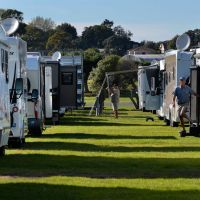 The Covi Rally at Ellerslie Racecourse