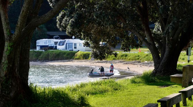 Long Bay – Great walks and right beside the water.