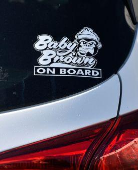 Jeremy's custom sticker for his car